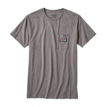 Men's Board Short Label Cotton/Poly Pocket T-Shirt by Patagonia