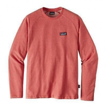 Men's Board Short Label LW Crew Sweatshirt by Patagonia