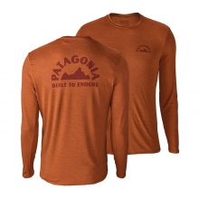 Men's Cap Daily L/S Graphic T-Shirt by Patagonia in Sioux Falls SD