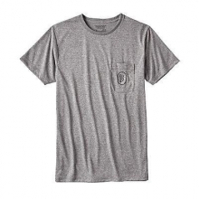 Men's Climb Clean Rack Rec. Poly Pocket Responsibili-Tee by Patagonia