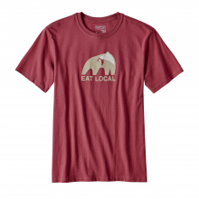 Men's Eat Local Upstream Cotton T-Shirt by Patagonia