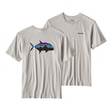 Men's Fitz Roy Trevally Cotton T-Shirt by Patagonia