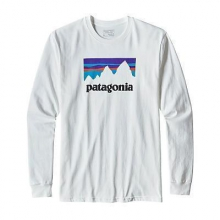 Men's L/S Shop Sticker Cotton T-Shirt by Patagonia in Holland Mi