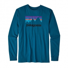 Men's L/S Shop Sticker Cotton T-Shirt by Patagonia