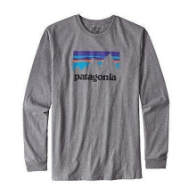 Men's L/S Shop Sticker Cotton T-Shirt by Patagonia in Costa Mesa Ca