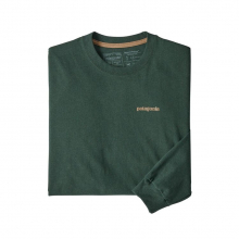 Men's L/S Text Logo Responsibili-Tee by Patagonia in Sioux Falls SD