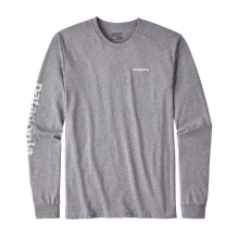 Men's L/S Text Logo Cotton/Poly Responsibili-Tee by Patagonia