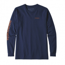 Men's L/S Text Logo Responsibili-Tee by Patagonia in Iowa City IA