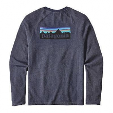 Men's P-6 Logo LW Crew Sweatshirt by Patagonia