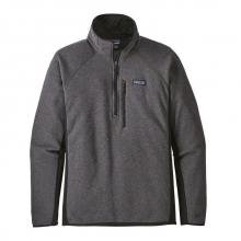 Men's Performance Better Sweater 1/4 Zip by Patagonia in Seward Ak