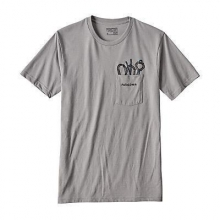 Men's Pocket Hex Cotton/Poly Pocket T-Shirt