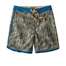 Men's Scallop Hem Wavefarer Board Shorts - 18 in.