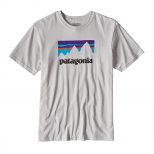 Men's Shop Sticker Cotton T-Shirt by Patagonia
