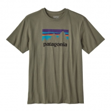 Men's Shop Sticker Cotton T-Shirt by Patagonia in Kirkwood Mo