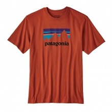 Men's Shop Sticker Cotton T-Shirt by Patagonia in Alexandria La