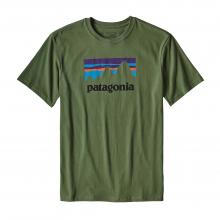 Men's Shop Sticker Cotton T-Shirt by Patagonia