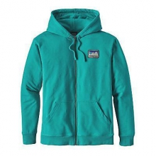 Men's Shop Sticker Patch MW Full-Zip Hoody by Patagonia