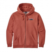 Men's Small Fitz Roy Trout MW Full-Zip Hoody by Patagonia