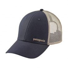 Small Text Logo LoPro Trucker Hat by Patagonia in Lewiston Id