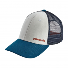 Small Text Logo LoPro Trucker Hat by Patagonia in Opelika AL