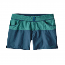 Women's Colorblock Stretch Wavefarer Shorts by Patagonia