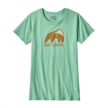 Women's Eat Local Upstream Cotton/Poly Responsibili-Tee