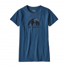 Women's Eat Local Upstream Cotton/Poly Responsibili-Tee by Patagonia in Lewiston Id