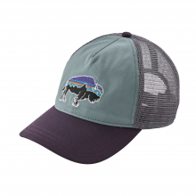 Women's Fitz Roy Bison Layback Trucker Hat by Patagonia in Medicine Hat Ab