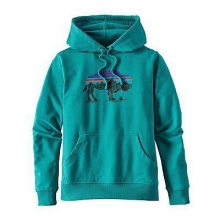 Women's Fitz Roy Bison MW Hoody by Patagonia