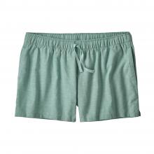 Women's Island Hemp Baggies Shorts by Patagonia in Daphne Al