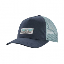 Women's Pastel P-6 Label Layback Trucker Hat by Patagonia in Iowa City IA