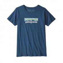 Women's Pastel P-6 Logo Cotton Crew T-Shirt by Patagonia