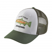 World Trout Fishstitch Trucker Hat by Patagonia