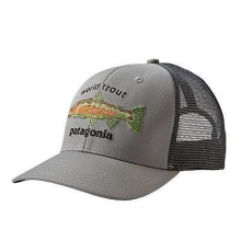 World Trout Fishstitch Trucker Hat by Patagonia in Columbus Ga