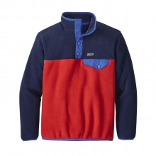 Boys' LW Synch Snap-T P/O by Patagonia in Red Deer Ab