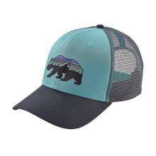 Fitz Roy Bear Trucker Hat by Patagonia in Kalamazoo Mi