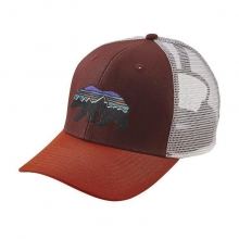 Fitz Roy Bear Trucker Hat by Patagonia in Columbia Sc