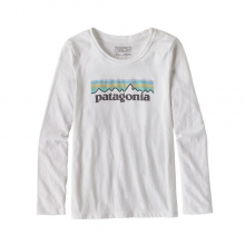Girls' L/S Pastel P-6 Logo Cotton/Poly T-Shirt