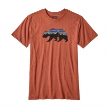 Men's Fitz Roy Bear Cotton/Poly T-Shirt by Patagonia in Chandler Az