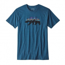 Men's Fitz Roy Bear Cotton/Poly T-Shirt by Patagonia