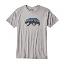 Men's Fitz Roy Bear Cotton/Poly T-Shirt by Patagonia in Leeds Al
