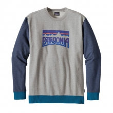 Men's Fitz Roy Frostbite MW Crew Sweatshirt by Patagonia in Red Deer County Ab