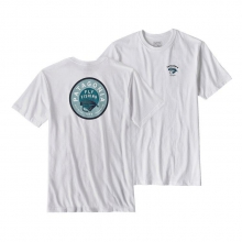 Men's Fly Lines Cotton/Poly Responsibi-Tee