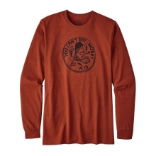 Men's L/S Can't Eat Money Cotton/Poly Responsibili-Tee