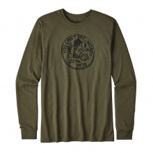 Men's L/S Can't Eat Money Cotton/Poly Responsibili-Tee by Patagonia in Oro Valley Az