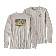 Men's L/S Eye of Brown World Trout Cotton T-Shirt by Patagonia