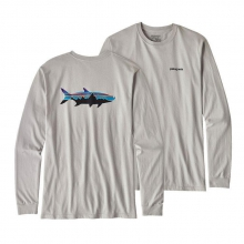 Men's L/S Fitz Roy Tarpon Cotton T-Shirt by Patagonia