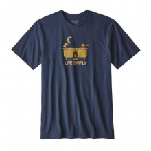 Men's Live Simply Hot Tub Cotton/Poly Responsibili-Tee by Patagonia in Iowa City IA