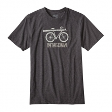 Men's Snow Cycle Cotton/Poly Responsibili-Tee by Patagonia