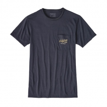 Men's Splitter Script Rec. Poly Pocket Responsibili-Tee by Patagonia